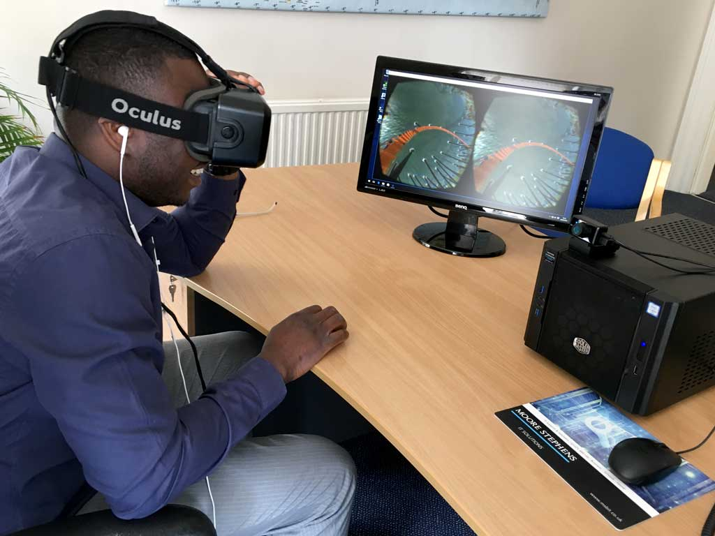 Oculus Rift - Virtual Reality | Moore Stephens IT Solutions